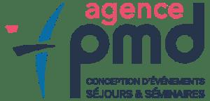 logo Agence PMD, spécialiste de l'organisation d' évènementiels sportifs, séminaires d' entreprise, stages sportifs, séjours en montagne à Font Romeu dans les PO