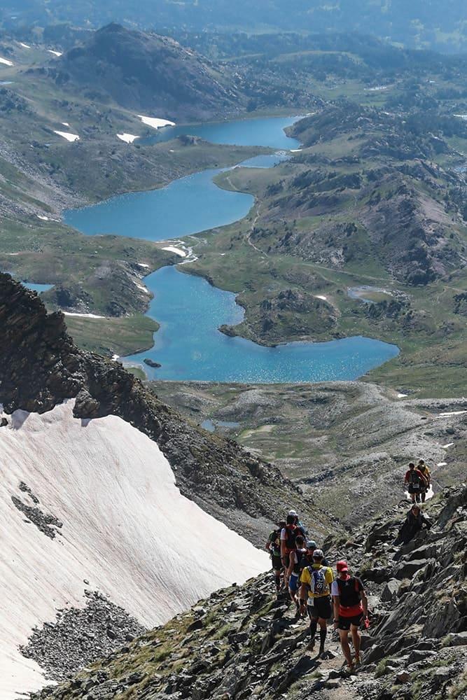 Trail de font romeu kilian's classik, trail sur neige, course de montagne à Font Romeu dans les sud de la France organisée par Agence Pmd