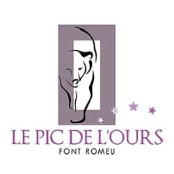 logo Le Pic de l'Ours, partenaire de l'agence Pmd, organisation de séminaire entreprise dans les PO, stages et séjours sportifs, événementiel et location de chalets