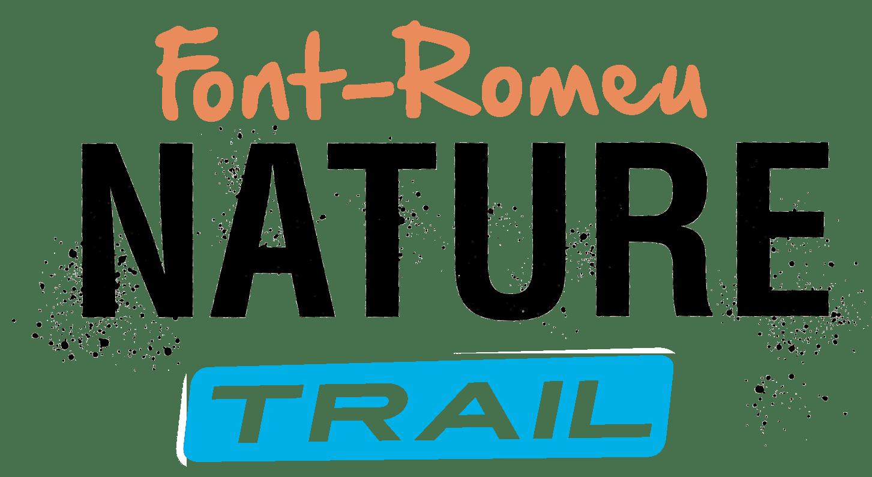 logo de nature trail Font romeu, événement organisé par l'agence PMD, spécialisée dans