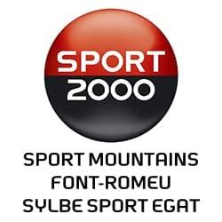 logo de sport 2000, partenaire de l'agence Pmd, organisation de séminaire entreprise dans les PO, stages et séjours sportifs, événementiel et location de chalets