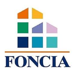 logo Foncia, partenaire de l'agence Pmd, organisation de séminaire entreprise dans les PO, stages et séjours sportifs, événementiel et location de chalets