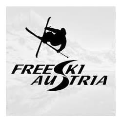 logo freeski austria, partenaire de l'agence Pmd, organisation de séminaire entreprise dans les PO, stages et séjours sportifs, événementiel et location de chalets