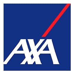 logo Axa, partenaire de l'agence Pmd, organisation de séminaire entreprise dans les PO, stages et séjours sportifs, événementiel et location de chalets
