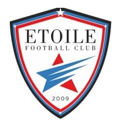 logo etoile football club, partenaire de l'agence Pmd, organisation de séminaire entreprise dans les PO, stages et séjours sportifs, événementiel et location de chalets