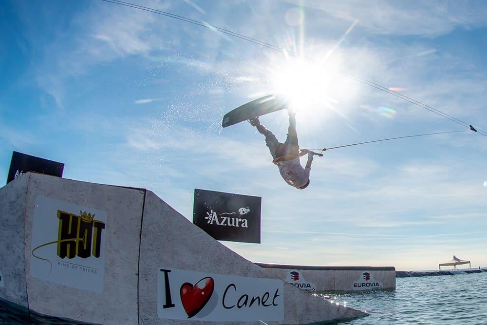 Organisation de l'évènement international de wakeboard 2018 à Canet en Roussillon par l'Agence PMD
