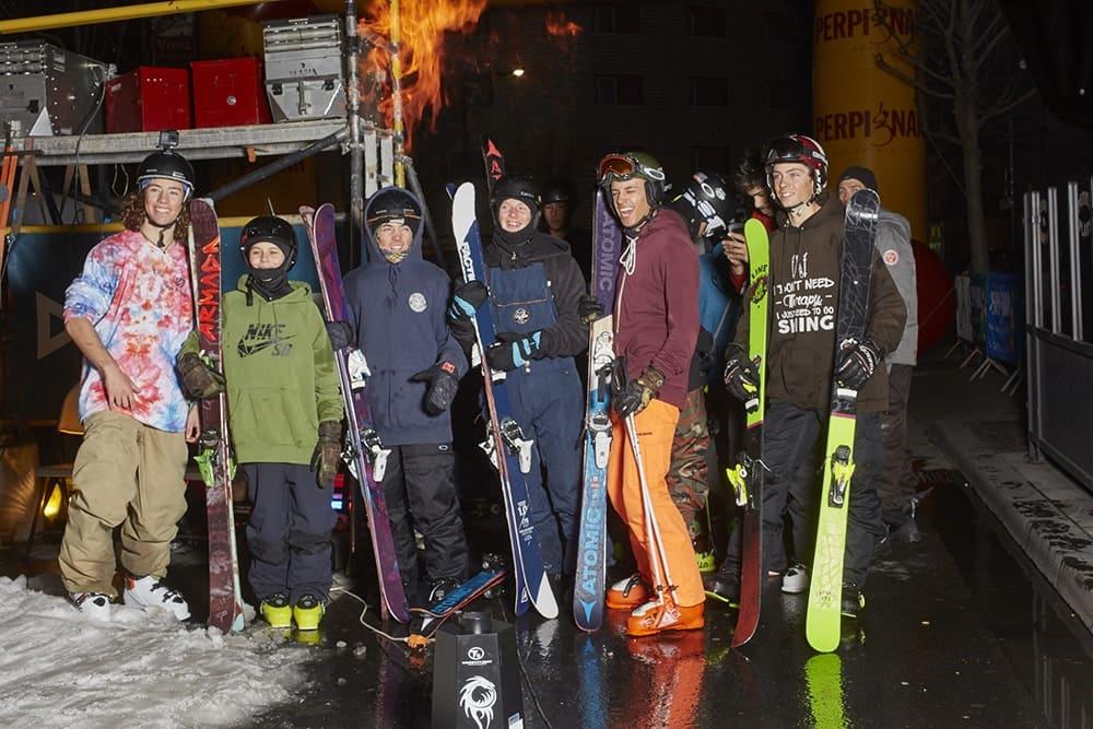Organisation de l'évènement international de urban ski 2019 à Perpignan dans les PO par l'Agence PMD
