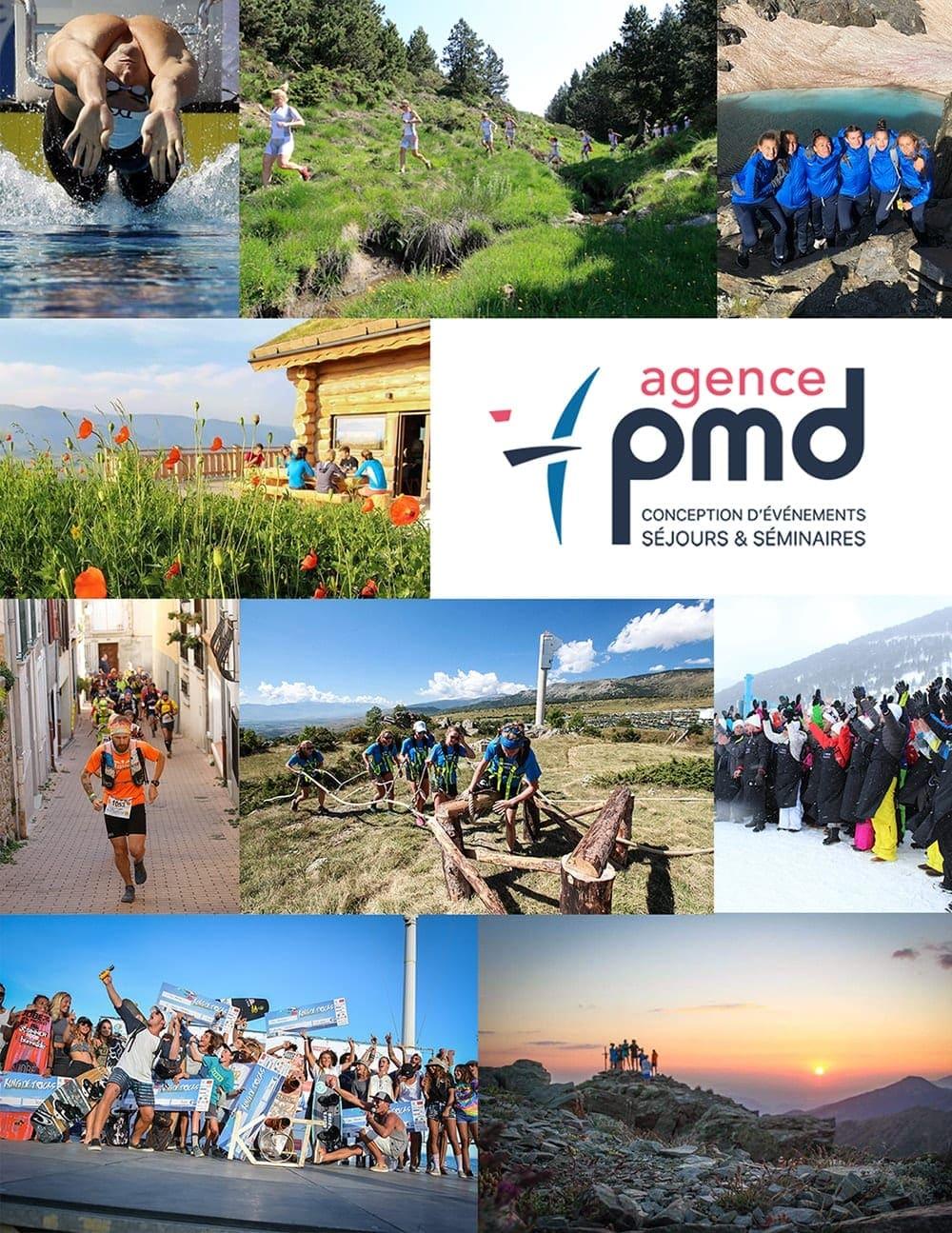 Agence pmd, conception d'événements sportifs, séjours, stages sportifs et séminaire d'entreprises dans les PO