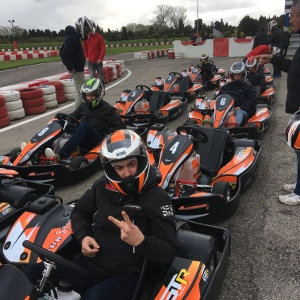 séminaire avec activité karting