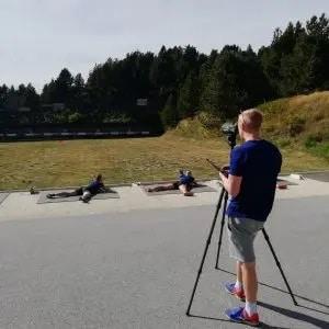 stage équipe suède biathlon font romeu