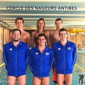 stage équipe natation Antibes et Marseille